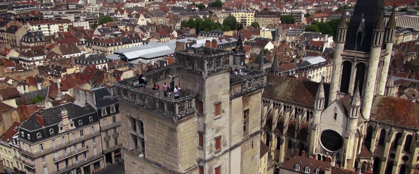 Dijon from the sky! Our city like you never seen it...