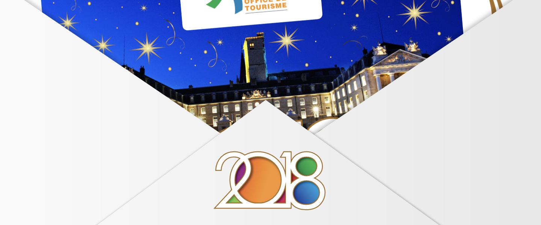 Meilleurs voeux 2018 de L'Office de Tourisme de Dijon Métropole !